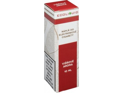 e-liquid Ecoliquid CHERRY 10ml - 18mg nikotinu/ml