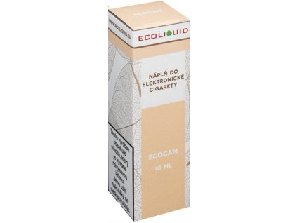 e-liquid Ecoliquid ECOCAM 10ml - 3mg nikotinu/ml
