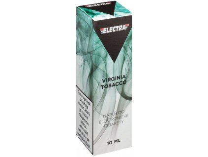 e-liquid ELECTRA Virginia Tobacco 10ml - 6mg nikotinu/ml