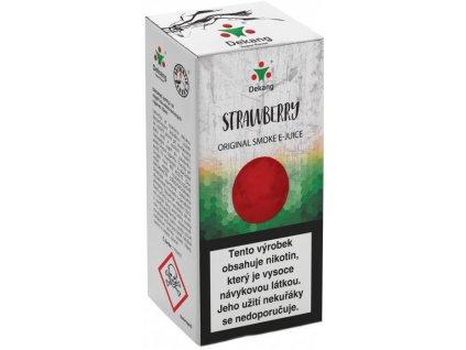 e-liquid Dekang Strawberry (Jahoda), 10ml - 3mg nikotinu/ml