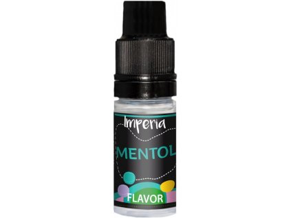 prichut imperia black label 10ml menthol chladivy mentol