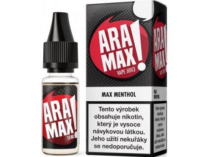 e-liquid ARAMAX Menthol 10ml - 12mg nikotinu/ml