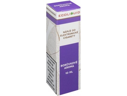 e-liquid Ecoliquid BLUEBERRY 10ml - 20mg nikotinu/ml