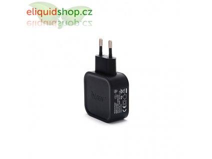 Avatar adaptér do sítě USB-AC Quick Charge 2.0 - černá