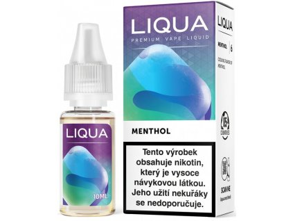 e-liquid LIQUA Elements Menthol 10ml - 12mg nikotinu/ml