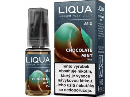 e-liquid LIQUA Mix Chocolate Mint 10ml - 3mg nikotinu/ml