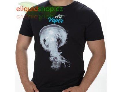 Tričko - Art Vaper černá - pánské - S