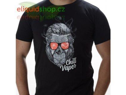 Tričko - Chill Vaper černá - pánské - L