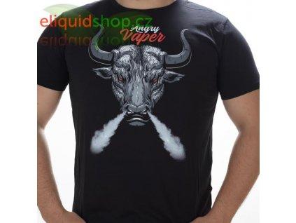 Tričko - Angry Vaper černá - pánské - M