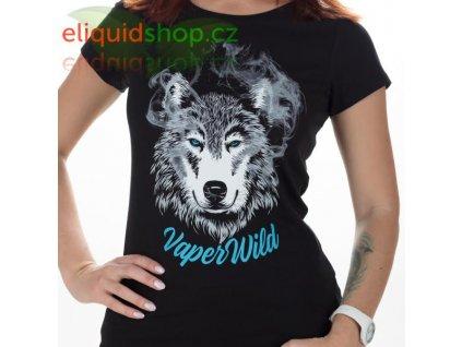 Tričko - Wild Vaper černá - dámské - S