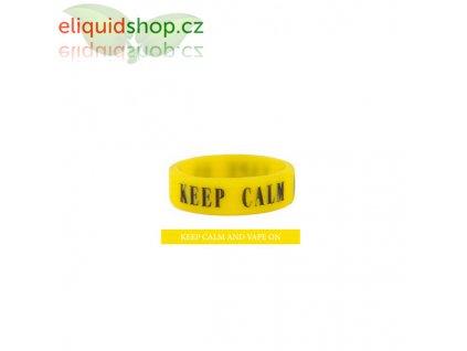 Dekorativní kroužek na clearomizér - Žlutá