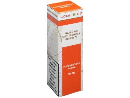 e-liquid Ecoliquid ORANGE 10ml - 0mg nikotinu/ml