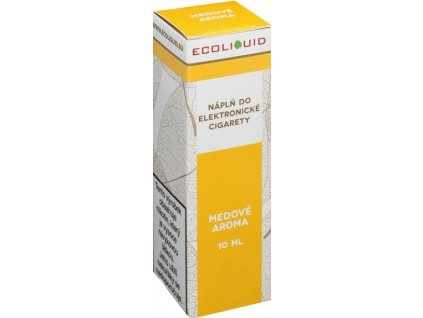 e-liquid Ecoliquid HONEY 10ml - 20mg nikotinu/ml