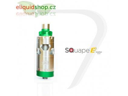 SQUAPE E Motion RTA 4,5ml atomizér - Zelená