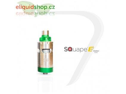 SQUAPE E Motion RTA 2ml atomizér - Zelená