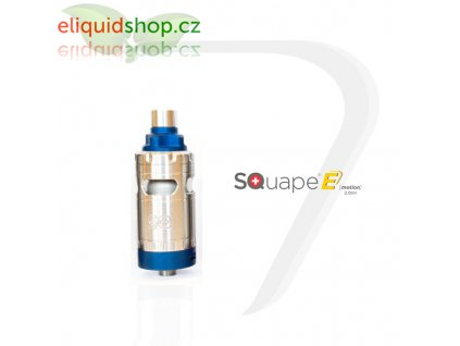 SQUAPE E Motion RTA 2ml atomizér - Modrá