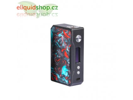 VooPoo DRAG 157 TC MOD - Black-Resin Purple Jade