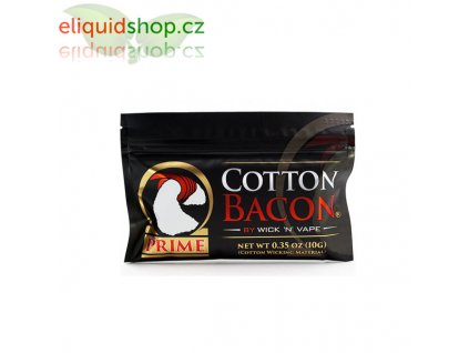 Cotton Bacon Prime, 1 balení, 10ks, 1 ks