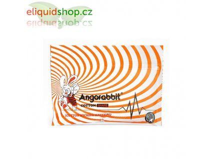 Angorabbit Orange 100% organická bavlna