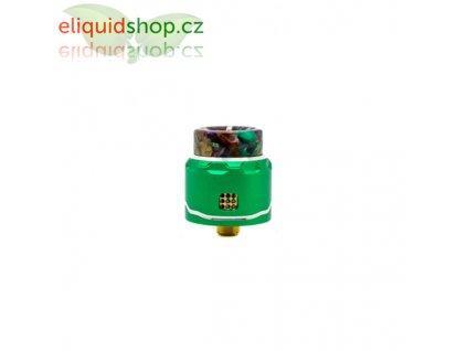 Asmodus C4 LP Single Coil RDA - Zelená