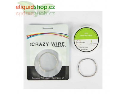 crazy wire ss316l drat