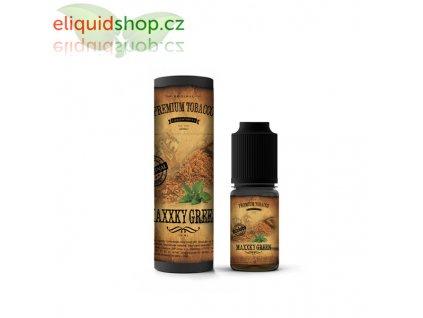 premium tobacco maxxky green