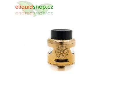 Asmodus Bunker Single Coil RDA - Rose Gold