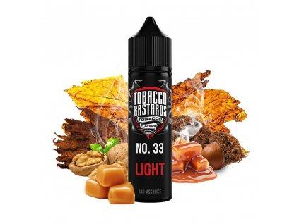 Příchuť Flavormonks Tobacco Bastards SaV No. 33 Light Tobacco 12ml