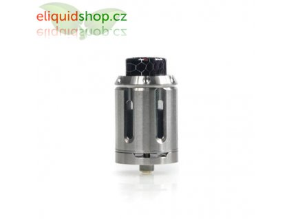 Squid Industries Peacemaker XL RTA 28mm (Dual Coil Deck) - Stříbrná