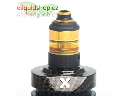 HussarVape Project X RTA atomizér - Black/Gold