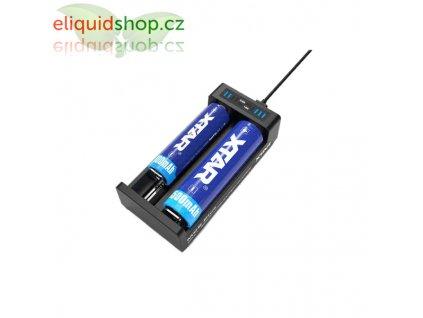 XTAR MC2 Plus nabíječka pro monočlánky