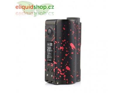 Dovpo Topside Dual SE 200W Squonk MOD - Black/Red