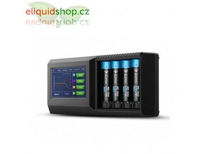 Efan Lux S4 LCD nabíječka pro monočlánky