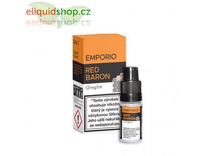 e-liquid EMPORIO Nic Salt Red Baron 10ml - 12mg