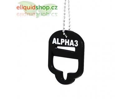 Alpha3 - nářadí pro otevírání lahviček (otvírák)