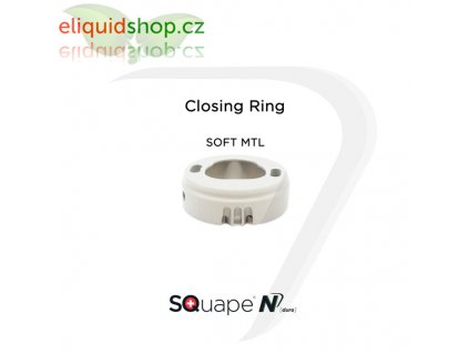 SQuape N[duro] Closing Ring - Soft MTL