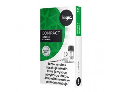 logic compact cartridge menthol