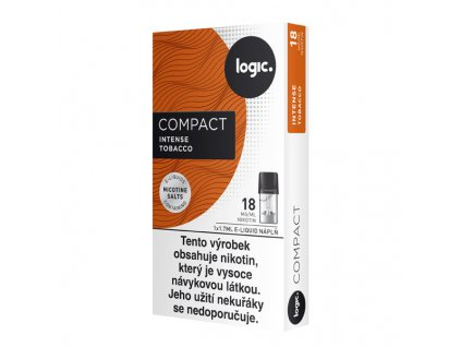 logic compact cartridge tobacco
