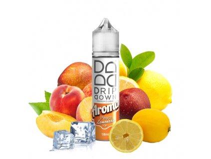 drip down peach lemonade
