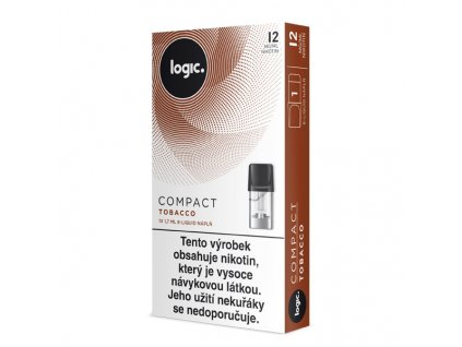 logic compact cartridge tobacco 12mg