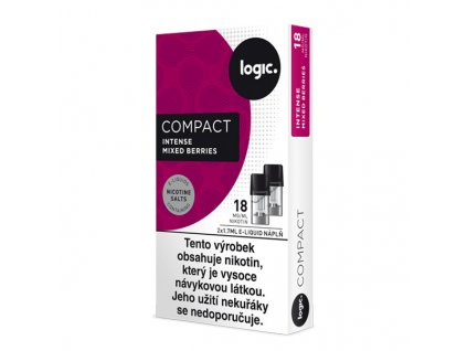 logic compact cartridge berries 2x