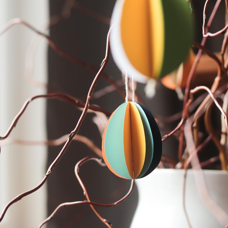 DIY Papírová vajíčka