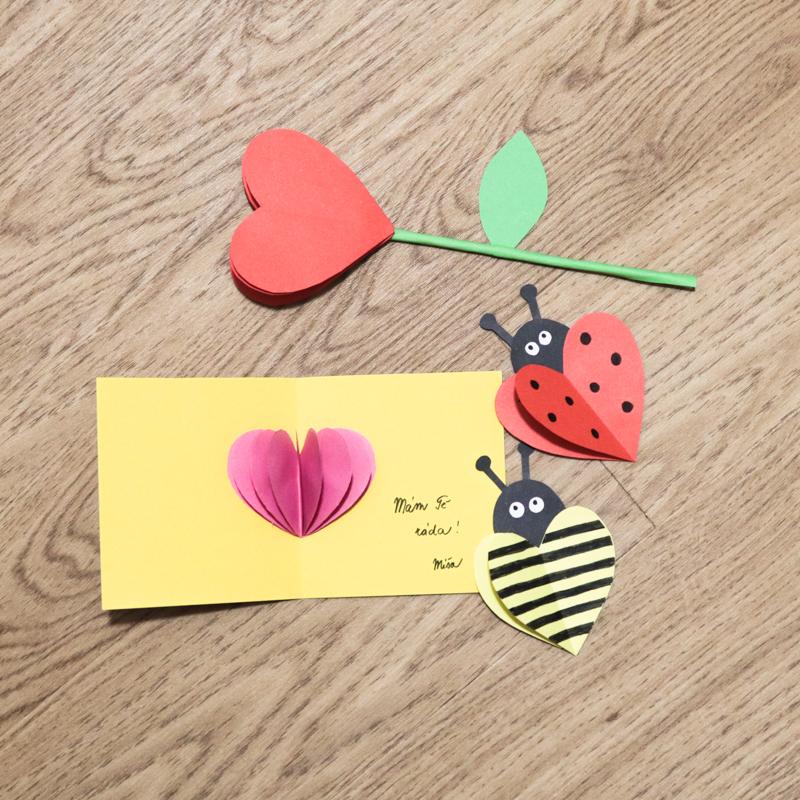 DIY Valentýnská přání