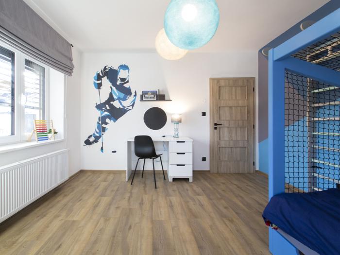 Mistrovský pokojíček pro malého hokejistu (Postav si sen)