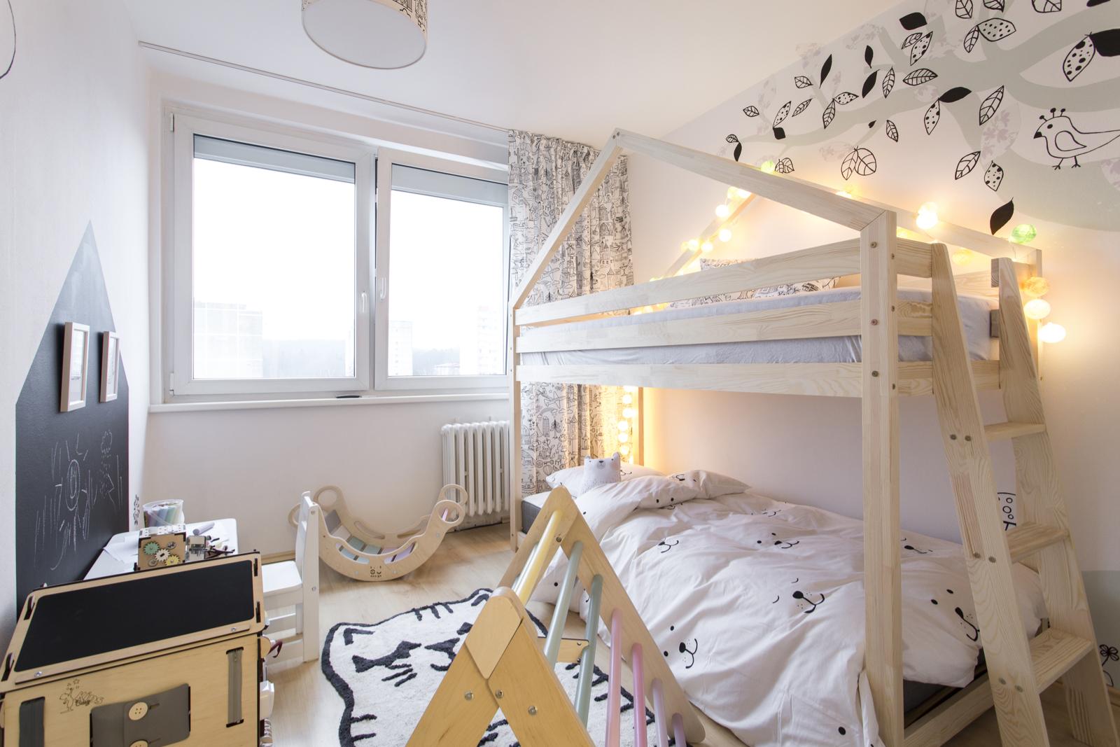 Montessori omalovankový pokojíček pro zvídavou slečnu (Postav si sen)