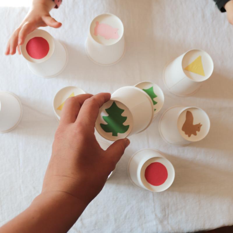 DIY Aktivity pro děti z kelímků