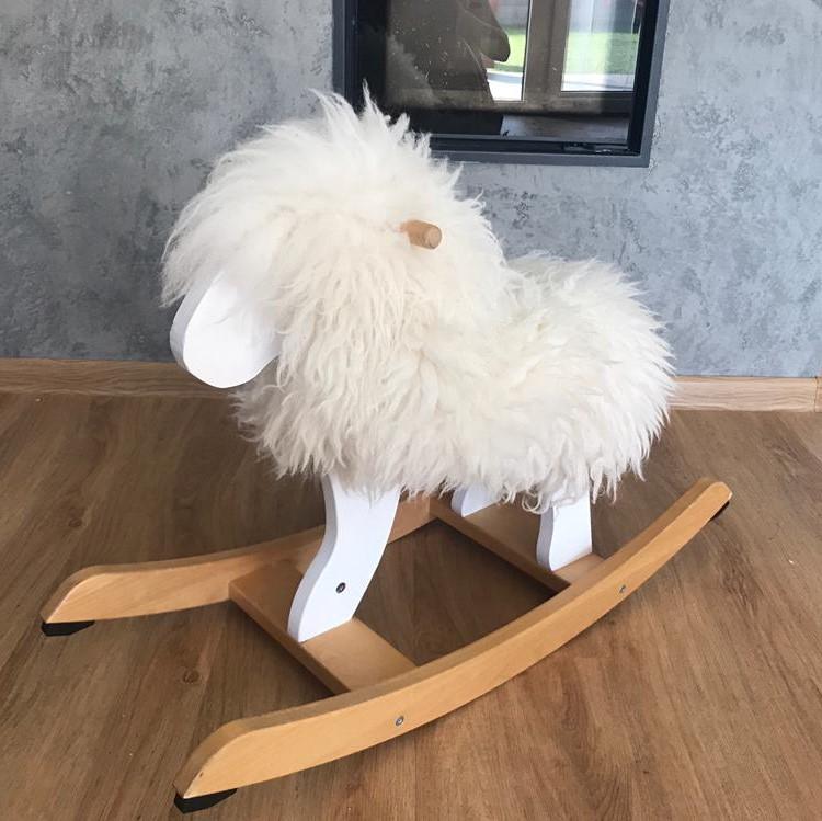 DIY houpací ovečka