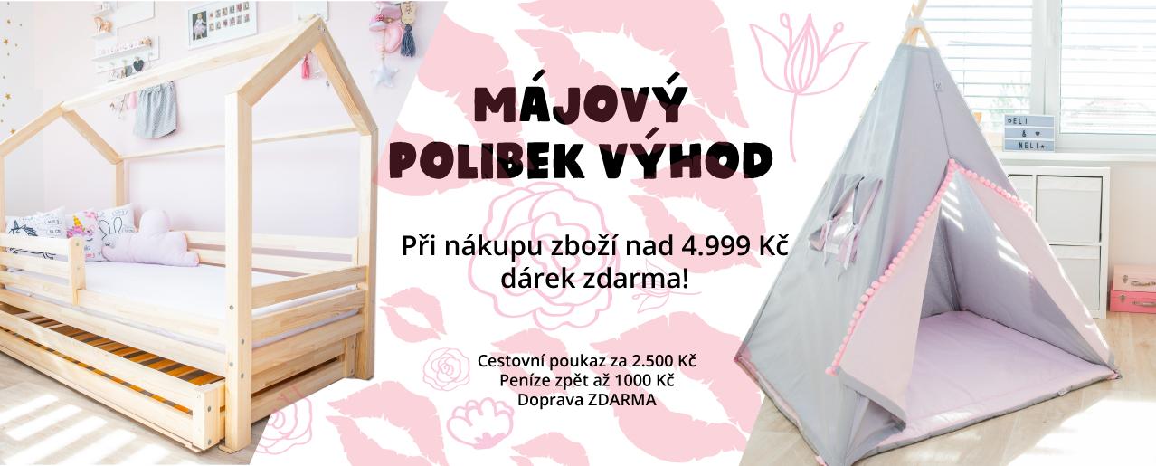 Nakupte za 4.999,- na www.elisdesign.cz a vyberte si jednu z mega výhod: Příspěvek na dovolenou ve výši 2.500,-, až 1.000,- zpět na váš účet nebo dopravu ZDARMA