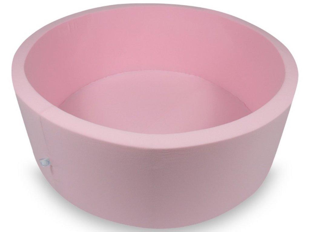 Holčičí růžový suchý bazének na míčky 110x40 cm