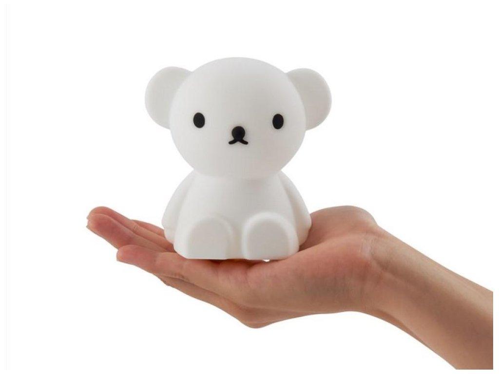 Roztomilý medvídek Boris malá dětská LED lampička
